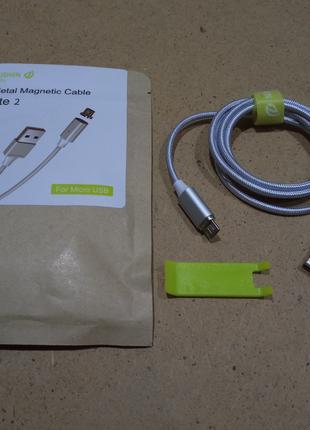Wsken Lite 2 магнитный micro USB кабель в нейлоновой оплетке 1 м