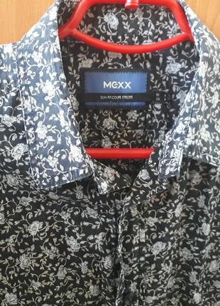 Стильная мужская рубашка в цветы, mexx