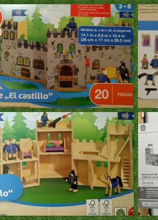 Деревянный домик рыцарский замок с фигурками play tive Melissa...