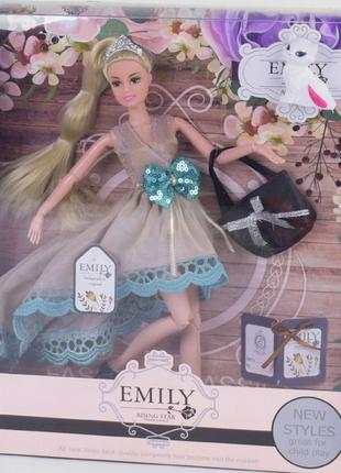 """Кукла """"Emily""""  В ассортименте, шарнирные"""