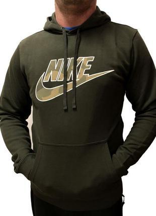 Стильное худи свежие коллекции nike ® sportswear camo logo