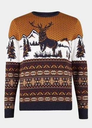 Трендовый свитерок новогодняя тематика новая коллекция burton ...