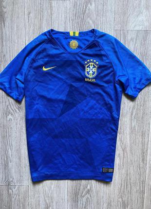 Nike футболка dri fit brasil найк 12 лет 13 оригинал