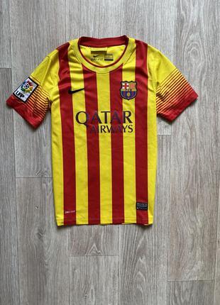 Nike barcelona оригинал найк футболка 10 - 12 лет dri fit