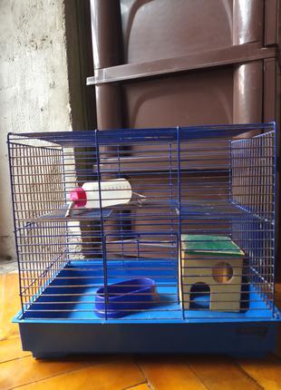 Клетка для хомячка, 35х24х31см