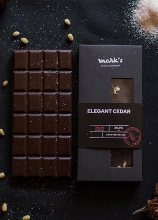 """Бельгійський Преміум Шоколад Ручної Роботи Mark's """"Elegant Cedar"""""""