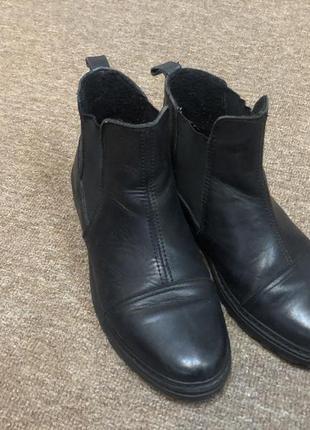 Кожаные ботинки браска