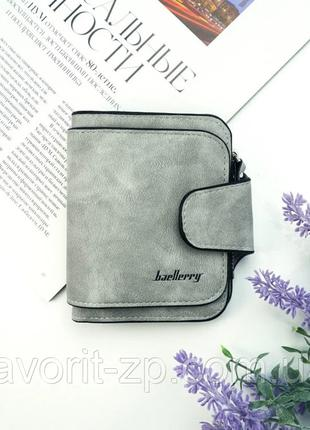 Кошелек женский Baellerry Forever Mini Grey