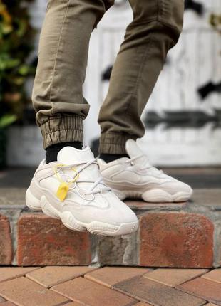 Кросівки зимние на меху adidas yeezy boost 500 fur кроссовки
