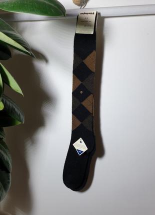 Мужские высокие теплые носки burlington