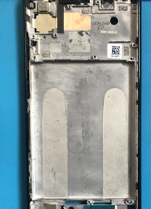 Рамка оригинальная Xiaomi Redmi Note 7 Blak