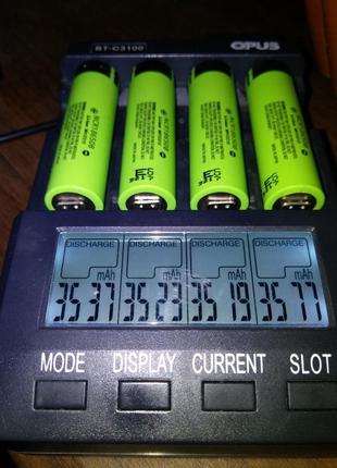 Аккумуляторы PANASONIC NCR18650B 3400МАЧ оригинал