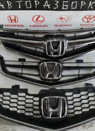 Решетка радиатора Honda Accord 7 рестайл/дорестайл Хонда Аккор...