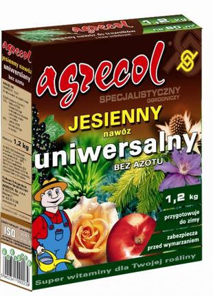 Удобрение Agrecol (Агрикол) осеннее универсальное 1,2 кг