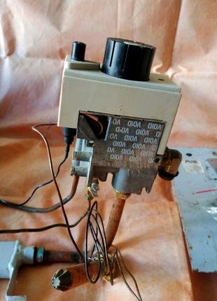 Автоматика для газового котла з горілками і фільтром