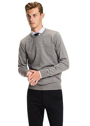 Мужской роскошный свитер tommy hilfiger.