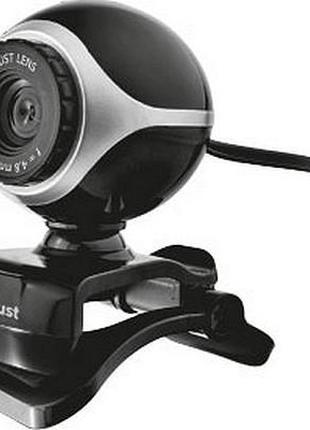 WEB-камера Trust Exis Black/Silver
