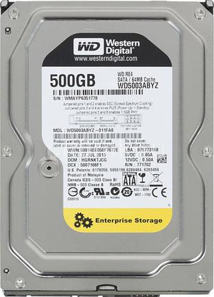 Жесткий диск WD (WD5003ABYZ)