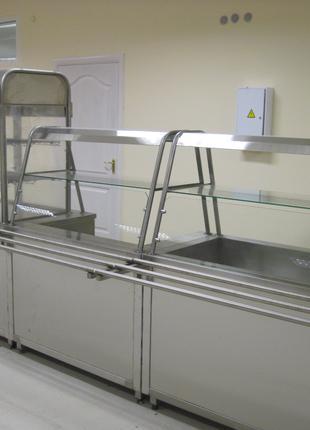 Из нержавеющей стали : столы, шпильки, мойки ,ванны, линии раздач