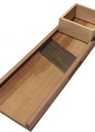 Терка, ручная деревянная доска для шинковки капусты