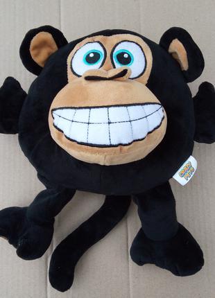 Мягкая игрушка - подушка Обезьяна Crazy pets