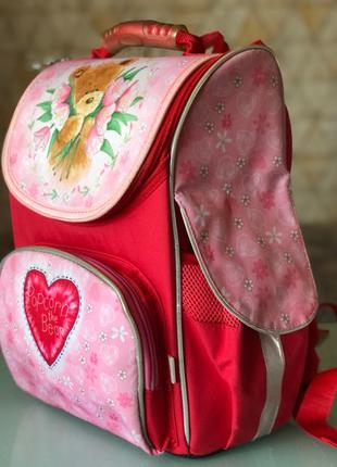 Школьный ортопедический рюкзак Kite Popcorn the Bear