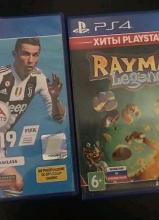 Fifa 19,Rayman Legends
