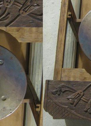 Часы напольные Густав Беккер Gustav Becker Механизм Р112