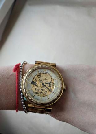 Jacques Lemans, оригинал. Часы женские механические скелетоны.