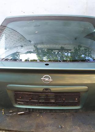 Стекло заднее Опель астра Ляд Opel Astra g разборка Опель астр...
