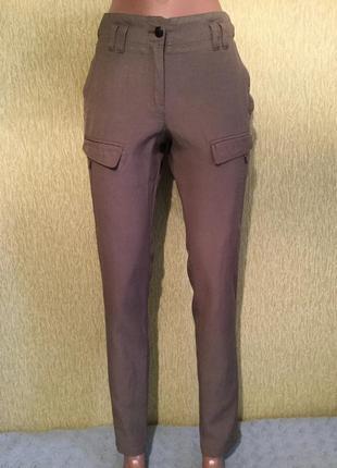 Брюки карго  штаны в стиле милитари ikks размер xs
