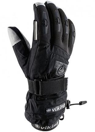Рукавиці гірськолижні viking printer чорний 20 рукавицы перчатки
