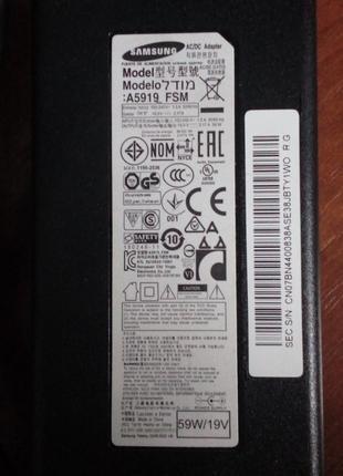 Оригинальный блок питания Samsung A5919_FSM
