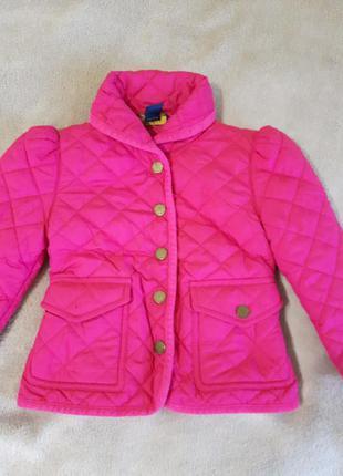 Куртка деми для девочки ralph lauren.