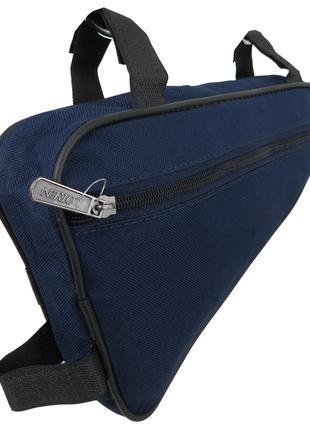 Велосипедная сумка 1,5L Loren ARS101 navy, синяя