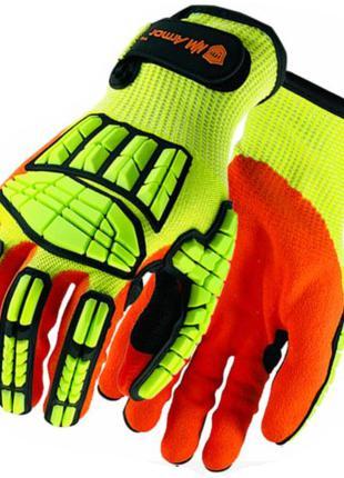 Противоударные, антипорез, перчатки для работы