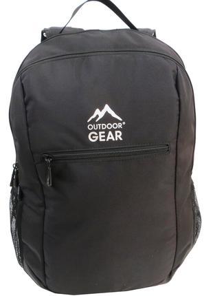 Городской рюкзак 25L Outdoor Gear 7224 черный