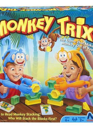 Семейная настольная игра Веселые обезьянки Monkey Trix Maya Games
