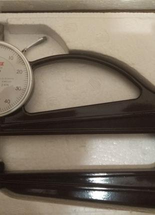 Микрометр толщиномер индикаторный Peacock model H 2.4 N 0.01