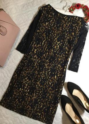 Платье ажурное 10 размер