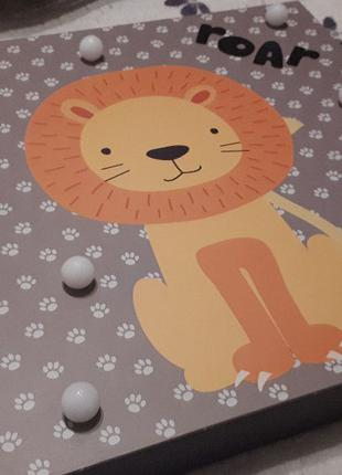 Светильник в детскую Лев (ночник)