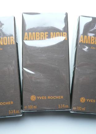 Мужская туалетная вода Ambre Noir Черная Амбра 100ml от Ив Роше