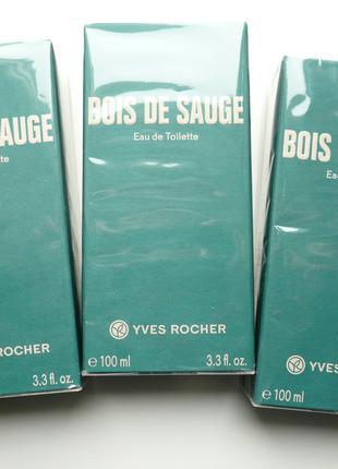 Мужская туалетная вода Bois De Sauge 100ml от Ив Роше