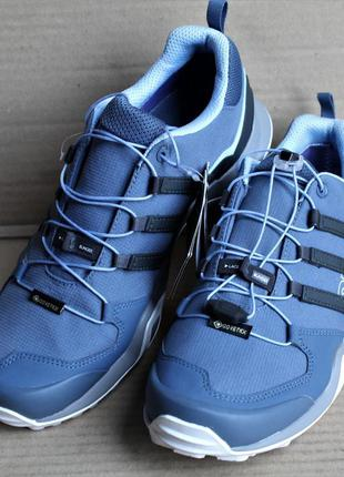 Кроссовки adidas terrex swift r2 gtx tech ink/carbon/glow blue...