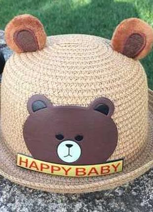 Шляпа летняя детская. кепка. бейсболка