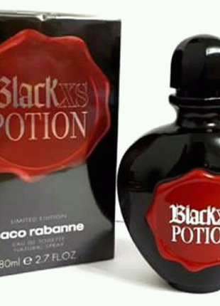 Женский парфюм Paco Rabanne Black XS Potion for Her