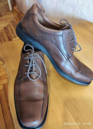 Туфли демисезонные Clarks Plus 1825(Great Britain), Uk8.5(EU42.5)