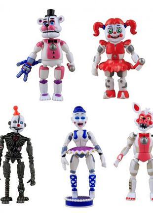 Набор игрушек Аниматроники Фнаф 5 Ночей с Фредди