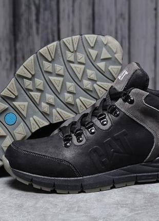 Мужские зимние ботинки ⬆️ cat caterpilar expensive (мех)  арт....