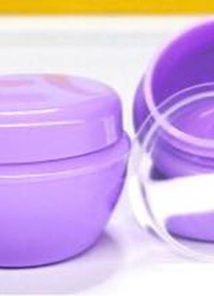 Баночка Тифани белая, сиреневая, мятная, фиолетовая10 мл.